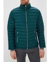 Мужская темно-зеленая куртка-пуховик от Modis