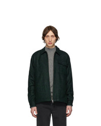 Темно-зеленая куртка харрингтон