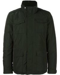 Темно-зеленая полевая куртка
