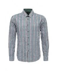 f56999081a51 Купить мужскую темно-зеленую рубашку с длинным рукавом - модные ...