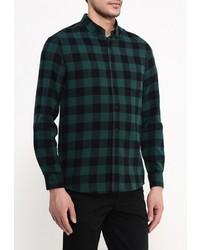 51648489c5b5 2 300 руб., Мужская темно-зеленая рубашка с длинным рукавом от Topman