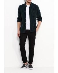 85deed9deae9 2 870 руб., Мужская темно-зеленая рубашка с длинным рукавом от Topman