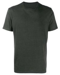 Мужская темно-зеленая футболка с круглым вырезом от Bellerose