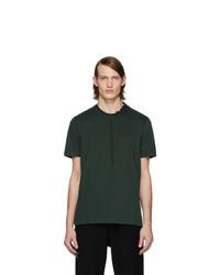 Мужская темно-зеленая футболка с круглым вырезом от Craig Green