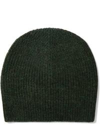 Женская темно-зеленая шапка от Etoile Isabel Marant