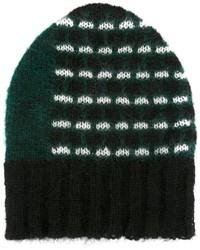 Женская темно-зеленая шапка от Marni