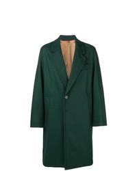 Темно-зеленое длинное пальто от Barena