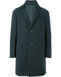 Темно-зеленое длинное пальто от Lanvin