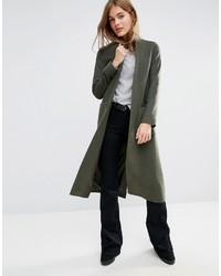 ccf11bed8a3 Купить женское темно-зеленое пальто в интернет-магазине Asos ...