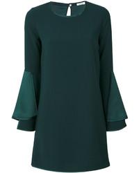 Женское темно-зеленое платье от P.A.R.O.S.H.