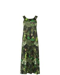 Темно-зеленое пляжное платье от Lygia & Nanny