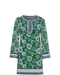 Темно-зеленое пляжное платье от Missoni
