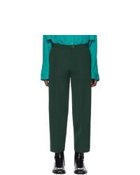 Темно-зеленые брюки чинос от Balenciaga