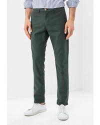 Темно-зеленые брюки чинос от BAWER