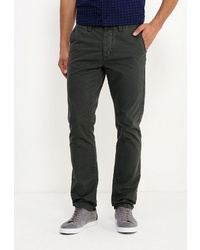 Темно-зеленые брюки чинос от Fresh Brand