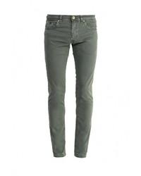 Темно-зеленые брюки чинос от Gas