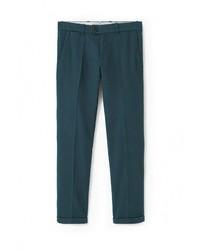 Темно-зеленые брюки чинос от Mango Man