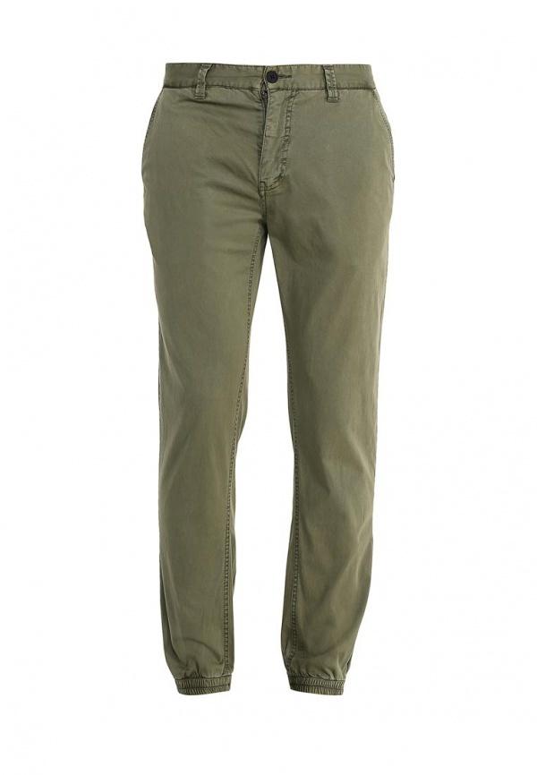 Темно-зеленые брюки чинос от Minimum