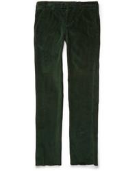 Мужские темно-зеленые вельветовые джинсы от Michael Bastian