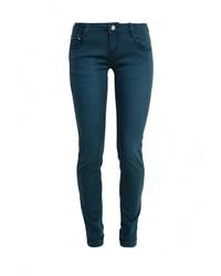 Темно-зеленые джинсы скинни от By Swan