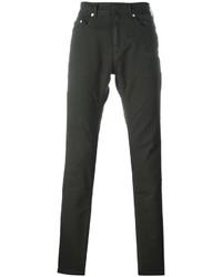 Мужские темно-зеленые джинсы от Neil Barrett