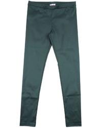 Темно-зеленые леггинсы