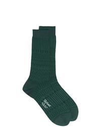 Мужские темно-зеленые носки от Ayame