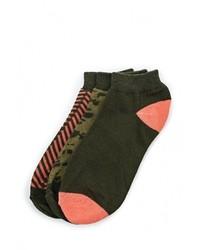 Мужские темно-зеленые носки от BLEND