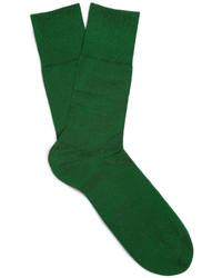 Мужские темно-зеленые носки от Falke