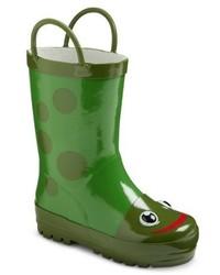 Детские темно-зеленые резиновые сапоги для мальчиков от Western Chief