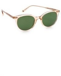 Женские темно-зеленые солнцезащитные очки
