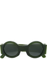 Мужские темно-зеленые солнцезащитные очки от Linda Farrow