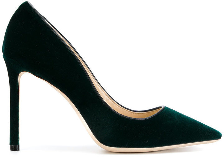 Темно-зеленые туфли от Jimmy Choo   Где купить и с чем носить 76c88a89698