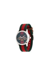 Мужские темно-зеленые часы от Gucci