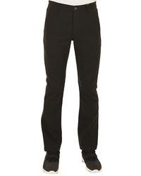 Темно-зеленые шерстяные классические брюки