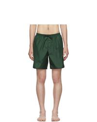 Темно-зеленые шорты для плавания от Gucci