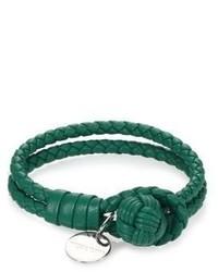 Темно-зеленый браслет