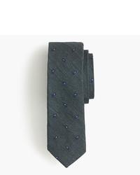 """Темно-зеленый галстук с """"огурцами"""""""