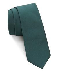 Темно-зеленый галстук