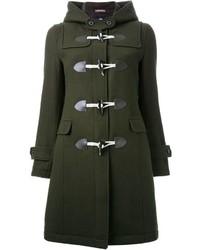 Женский темно-зеленый дафлкот от GUILD PRIME