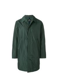 Темно-зеленый дождевик
