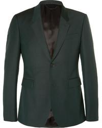Темно-зеленый костюм от Burberry