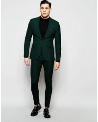 e642dda4a64c Мужской темно-зеленый пиджак в клетку от Asos, 7 249 руб. | Asos ...