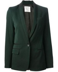 Темно-зеленый пиджак