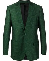 Мужской темно-зеленый пиджак от Christian Wijnants