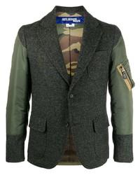 Мужской темно-зеленый пиджак от Junya Watanabe