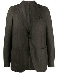Мужской темно-зеленый пиджак от Lardini