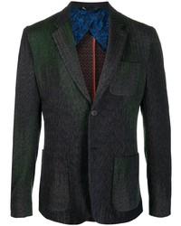 Мужской темно-зеленый пиджак от Missoni