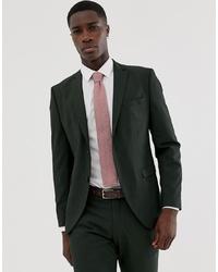 Мужской темно-зеленый пиджак от Selected Homme
