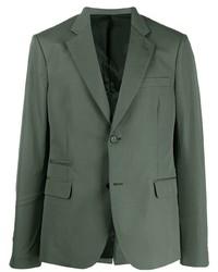 Мужской темно-зеленый пиджак от Stella McCartney